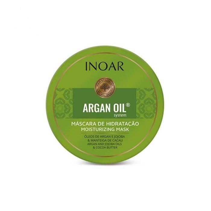 mascarilla de aceite de argan para el pelo
