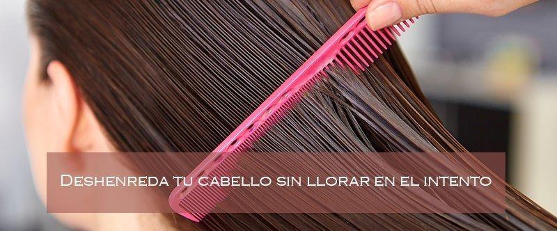 cómo desenredar mi cabello rápido
