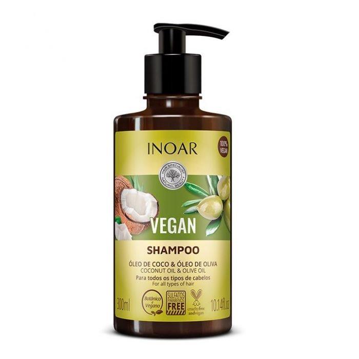 champu vegan con coco