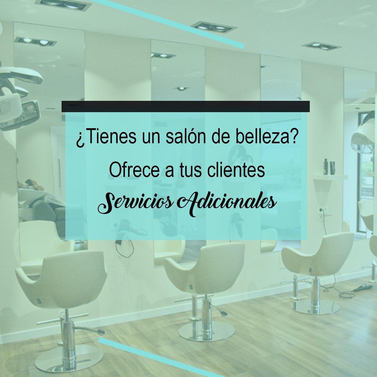 Servicios Adicionales en tu peluqueria