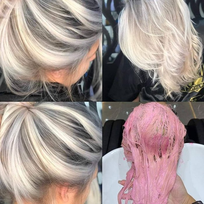 Efecto del Matizador Pink de Robson Peluquero