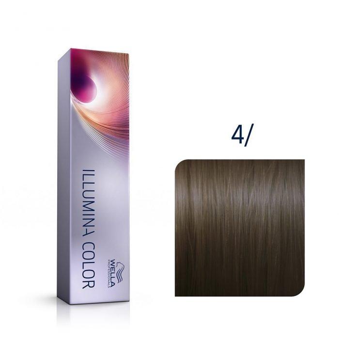 tinte illumina wella 4/
