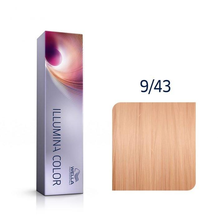 9/43 tinte wella