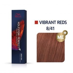 tinte 8/41 vibrant reds wella