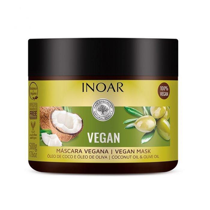 mascarilla vegan con coco y oliva