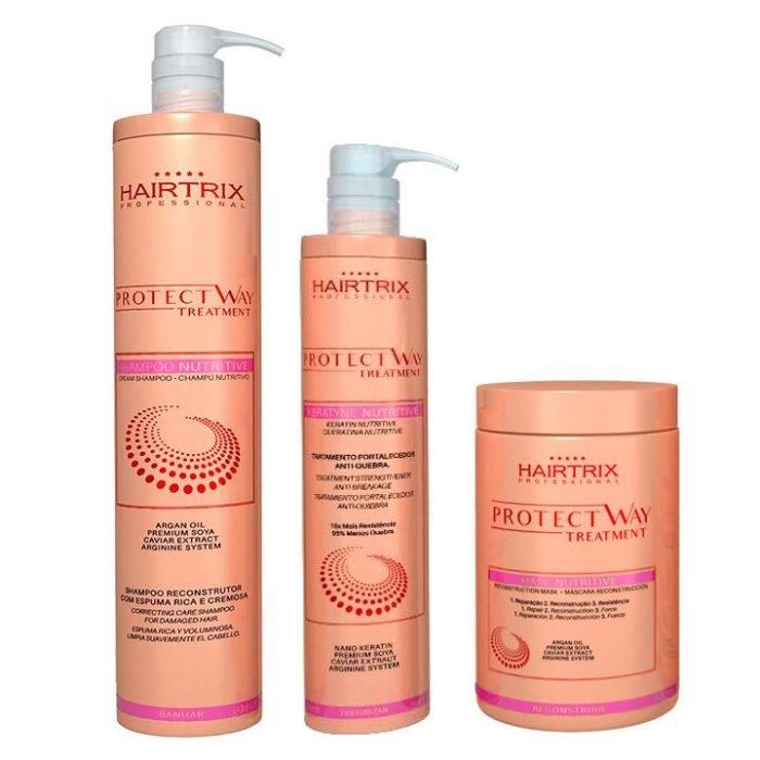 kit hairtrix para fortalecer el cabello