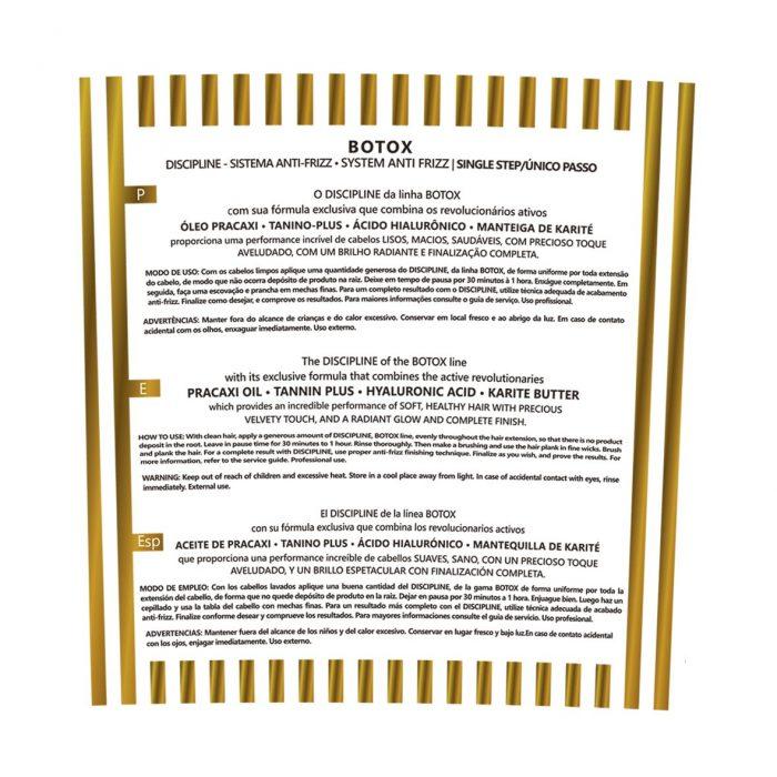 Etiqueta Botox Capilar