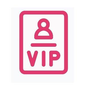 ícono de trato VIP en Viva Linda