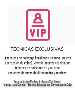 ícono técnicas VIP de mechas