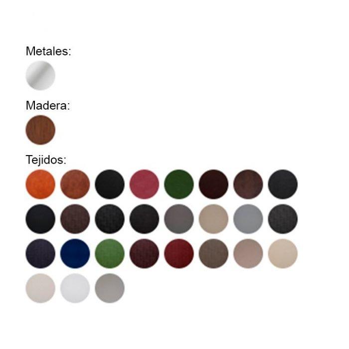 colores disponibles sillón clasic