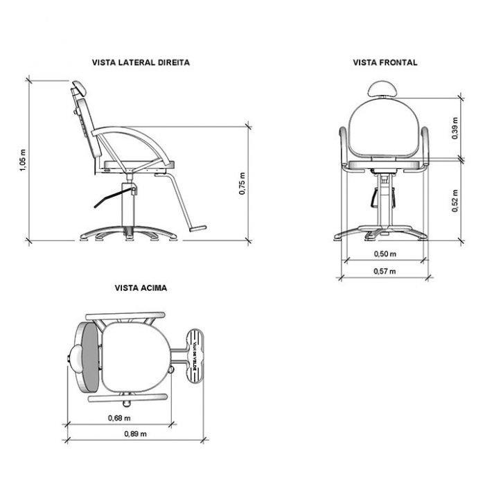 especificaciones silla lille