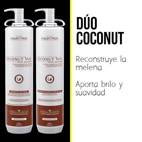 Minibanner coconut con imagen de copacabana