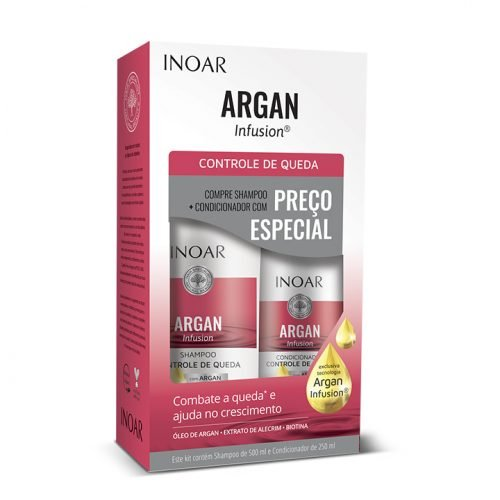 tratamiento anticaída argan infusion de la marca inoar