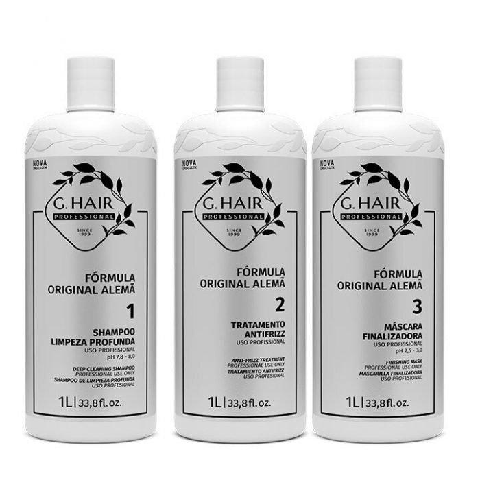 queratina brasileña ghair kit de 1 litro
