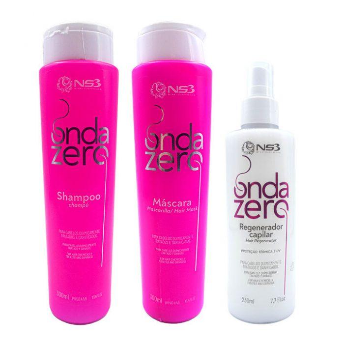 Onda Zero kit para reparar el pelo dañado